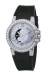 Harry Winston Ocean Lady Moon Phase 36mm oceqmp36ww002 watch