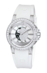 Harry Winston Ocean Lady Moon Phase 36mm oceqmp36ww003 watch