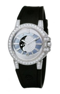 Harry Winston Ocean Lady Moon Phase 36mm Ladies watch, model number - oceqmp36ww004, discount price of £30,150.00 from The Watch Source