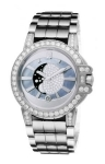 Harry Winston Ocean Lady Moon Phase 36mm oceqmp36ww006 watch