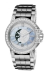 Harry Winston Ocean Lady Moon Phase 36mm oceqmp36ww007 watch