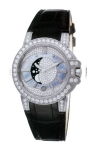 Harry Winston Ocean Lady Moon Phase 36mm oceqmp36ww011 watch