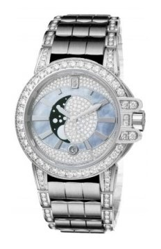 Harry Winston Ocean Lady Moon Phase 36mm Ladies watch, model number - oceqmp36ww012, discount price of £53,540.00 from The Watch Source