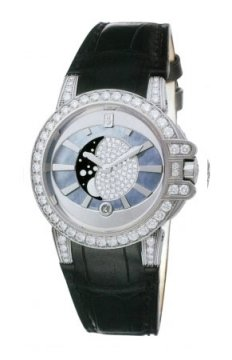 Harry Winston Ocean Lady Moon Phase 36mm Ladies watch, model number - oceqmp36ww017, discount price of £27,470.00 from The Watch Source