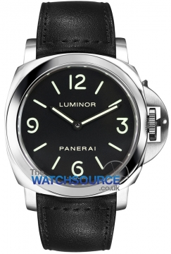 Panerai Luminor Base 44mm Mens watch, model number - pam00112, discount price of £4,130.00 from The Watch Source