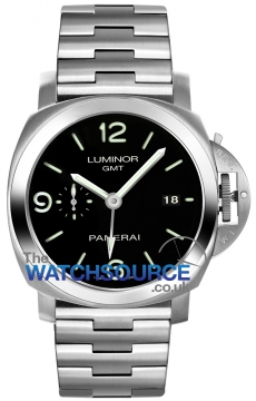 Panerai Luminor 1950 3 Days GMT Automatic 44mm Mens watch, model number - pam00329, discount price of £6,750.00 from The Watch Source