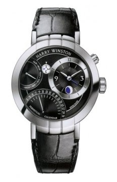 Harry Winston Premier Excenter Perpetual Calendar 41mm Mens watch, model number - prnapc41ww001, discount price of £46,260.00 from The Watch Source