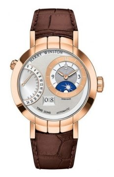 Harry Winston Premier Excenter Timezone 41mm Mens watch, model number - prnatz41rr001, discount price of £26,550.00 from The Watch Source