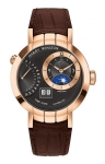 Harry Winston Premier Excenter Timezone 41mm prnatz41rr002 watch