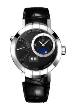 Harry Winston Premier Excenter Timezone 41mm Mens watch, model number - prnatz41ww001, discount price of £24,190.00 from The Watch Source