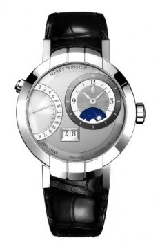 Harry Winston Premier Excenter Timezone 41mm Mens watch, model number - prnatz41ww002, discount price of £26,550.00 from The Watch Source