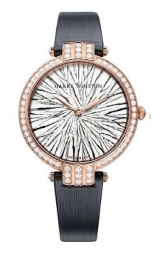 Harry Winston Premier Feathers Ladies Quartz 36mm Ladies watch, model number - prnqhm36rr004, discount price of £42,210.00 from The Watch Source