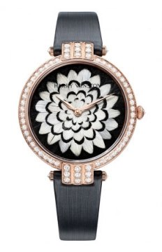 Harry Winston Premier Feathers Ladies Quartz 36mm Ladies watch, model number - prnqhm36rr005, discount price of £42,210.00 from The Watch Source