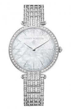 Harry Winston Premier Ladies Quartz 36mm Ladies watch, model number - prnqhm36ww003, discount price of £62,100.00 from The Watch Source