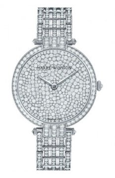 Harry Winston Premier Ladies Quartz 36mm Ladies watch, model number - prnqhm36ww004, discount price of £126,900.00 from The Watch Source
