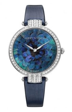 Harry Winston Premier Feathers Ladies Quartz 36mm Ladies watch, model number - prnqhm36ww005, discount price of £42,210.00 from The Watch Source