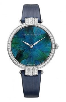 Harry Winston Premier Feathers Ladies Quartz 36mm Ladies watch, model number - prnqhm36ww006, discount price of £42,210.00 from The Watch Source