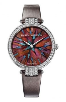 Harry Winston Premier Feathers Ladies Quartz 36mm Ladies watch, model number - prnqhm36ww008, discount price of £42,210.00 from The Watch Source