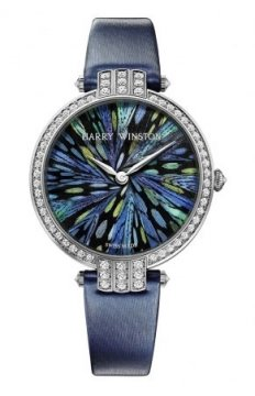 Harry Winston Premier Feathers Ladies Quartz 36mm Ladies watch, model number - prnqhm36ww010, discount price of £42,210.00 from The Watch Source