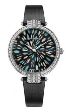 Harry Winston Premier Feathers Ladies Quartz 36mm Ladies watch, model number - prnqhm36ww011, discount price of £38,450.00 from The Watch Source