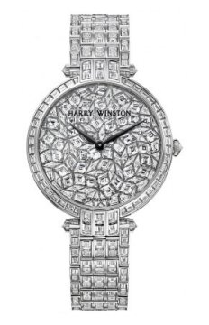 Harry Winston Premier Ladies Quartz 36mm Ladies watch, model number - prnqhm36ww014 GLACIER, discount price of £0.00 from The Watch Source