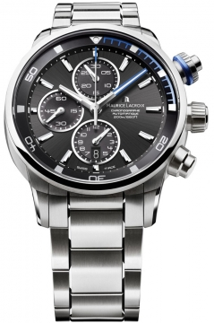 Maurice Lacroix Pontos S Chronograph Mens watch, model number - pt6008-ss002-331, discount price of £2,375.00 from The Watch Source