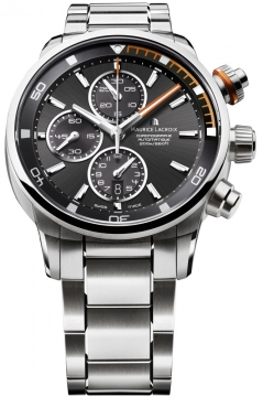 Maurice Lacroix Pontos S Chronograph Mens watch, model number - pt6008-ss002-332, discount price of £2,375.00 from The Watch Source