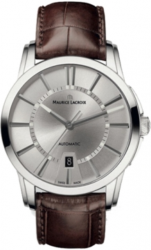 Maurice Lacroix Pontos Date Automatic Mens watch, model number - pt6148-ss001-130, discount price of £1,432.00 from The Watch Source