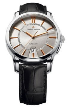 Maurice Lacroix Pontos Date Automatic Mens watch, model number - pt6148-ss001-131, discount price of £1,540.00 from The Watch Source