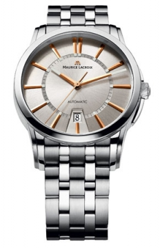 Maurice Lacroix Pontos Date Automatic Mens watch, model number - pt6148-ss002-131, discount price of £1,540.00 from The Watch Source