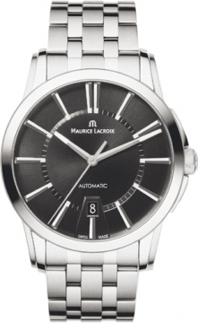 Maurice Lacroix Pontos Date Automatic Mens watch, model number - pt6148-ss002-330, discount price of £1,460.00 from The Watch Source
