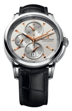 Maurice Lacroix Pontos Automatic Chronograph Mens watch, model number - pt6188-ss001-131, discount price of £2,315.00 from The Watch Source