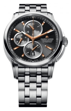 Maurice Lacroix Pontos Automatic Chronograph Mens watch, model number - pt6188-ss002-332, discount price of £2,315.00 from The Watch Source