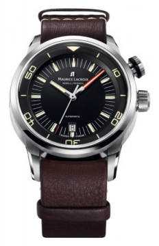 Maurice Lacroix Pontos S Diver Mens watch, model number - pt6248-ss001-330-002, discount price of £1,870.00 from The Watch Source
