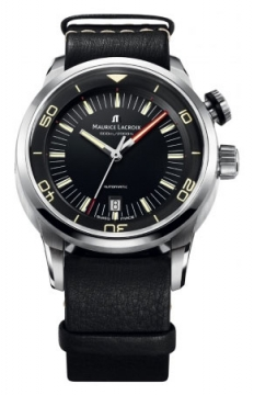 Maurice Lacroix Pontos S Diver Mens watch, model number - pt6248-ss001-330, discount price of £1,870.00 from The Watch Source