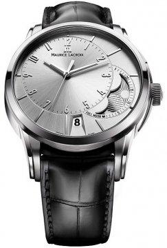 Maurice Lacroix Pontos Decentrique Phase de Lune pt6318-ss001-130 watch
