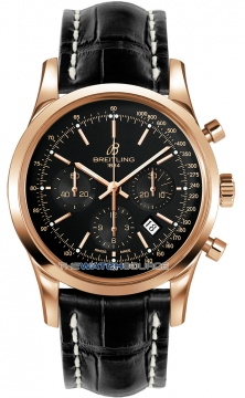Breitling Transocean Chronograph 43mm Mens watch, model number - rb015212/bb16-1ct, discount price of £12,730.00 from The Watch Source