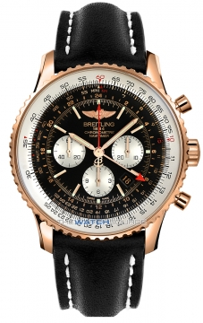 Breitling Navitimer GMT Mens watch, model number - rb044121/bd30-1lt, discount price of £18,690.00 from The Watch Source