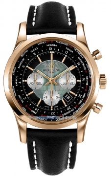 Breitling Transocean Chronograph Unitime Mens watch, model number - rb0510u4/bb63-1ld, discount price of £20,370.00 from The Watch Source