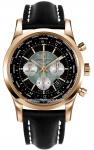 Breitling Transocean Chronograph Unitime rb0510u4/bb63-1lt watch
