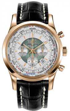 Breitling Transocean Chronograph Unitime Mens watch, model number - rb0510uo/a733-1cd, discount price of £20,630.00 from The Watch Source