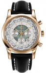 Breitling Transocean Chronograph Unitime rb0510uo/a733-1ld watch