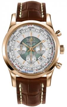 Breitling Transocean Chronograph Unitime Mens watch, model number - rb0510uo/a733-2ct, discount price of £19,040.00 from The Watch Source