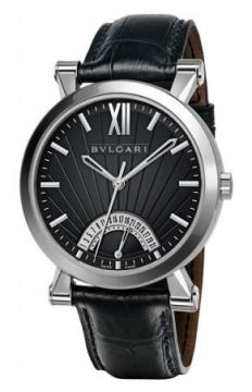 Bulgari Sotirio Bulgari Retrograde Date 42mm Mens watch, model number - sb42bsldr, discount price of £5,373.00 from The Watch Source