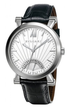 Bulgari Sotirio Bulgari Retrograde Date 42mm Mens watch, model number - sb42wsldr, discount price of £5,373.00 from The Watch Source