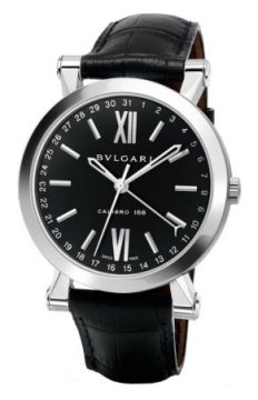 Bulgari Sotirio Bulgari Central Date 43mm Mens watch, model number - sb43bsld, discount price of £4,190.00 from The Watch Source
