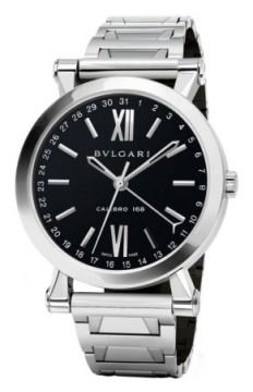 Bulgari Sotirio Bulgari Central Date 43mm Mens watch, model number - sb43bssd, discount price of £5,039.00 from The Watch Source