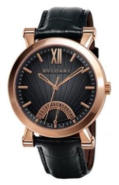 Bulgari Sotirio Bulgari Retrograde Date 42mm Mens watch, model number - sbp42bgldr, discount price of £12,430.00 from The Watch Source