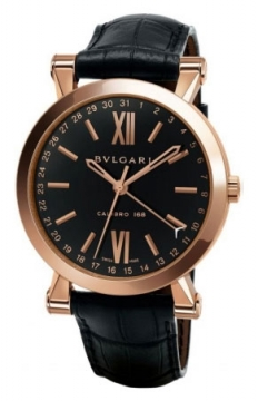 Bulgari Sotirio Bulgari Central Date 43mm Mens watch, model number - sbp43bgld, discount price of £12,571.00 from The Watch Source