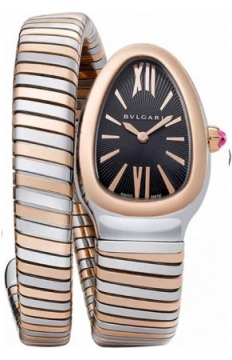 Bulgari Serpenti Tubogas 35mm Ladies watch, model number - sp35bspg.1t, discount price of £4,790.00 from The Watch Source
